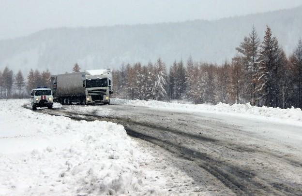 затруднено движение по трассе чита - хабаровск