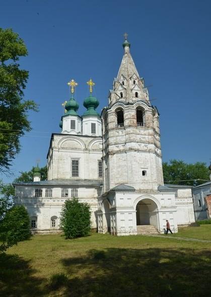 Троице-Гледенский монастырь Великий Устюг