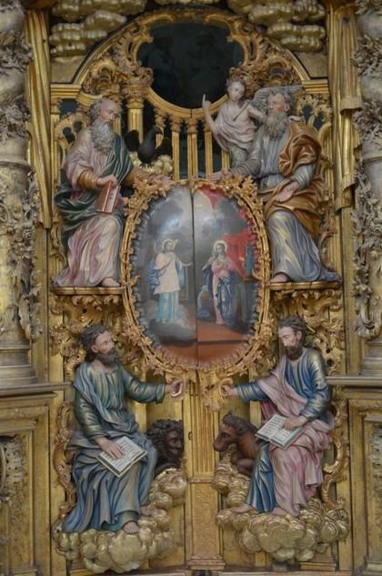 деревянный иконостас в троице-глединском монастыре