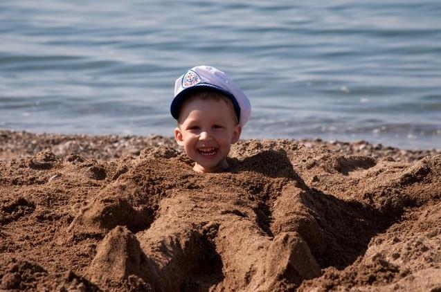 счастье в песке