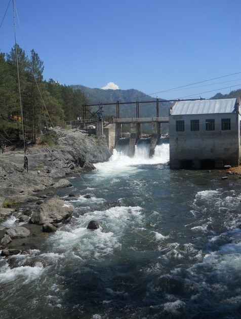 Чемальская ГЭС на алтае
