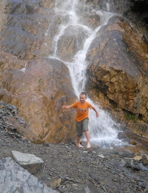 водопад Ширлак на алтае