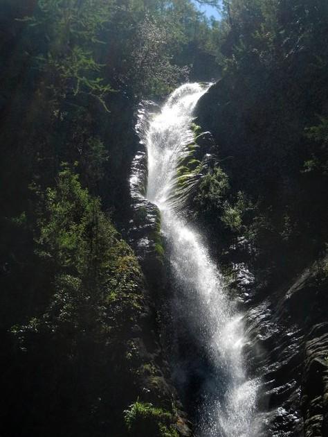 Водопад Улары алтай