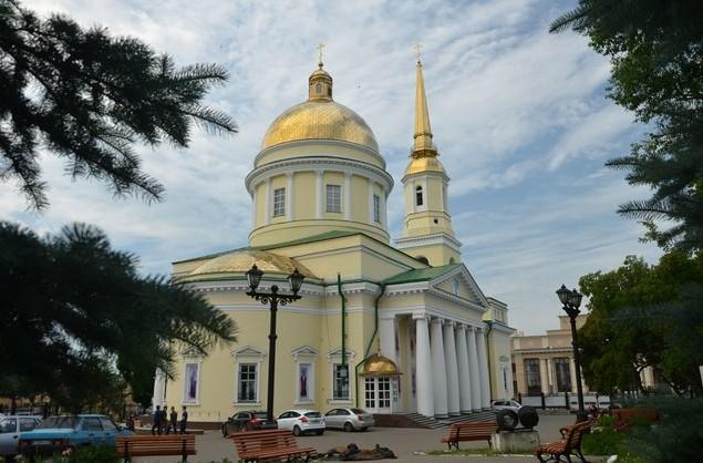 ижевск Александро-Невский собор
