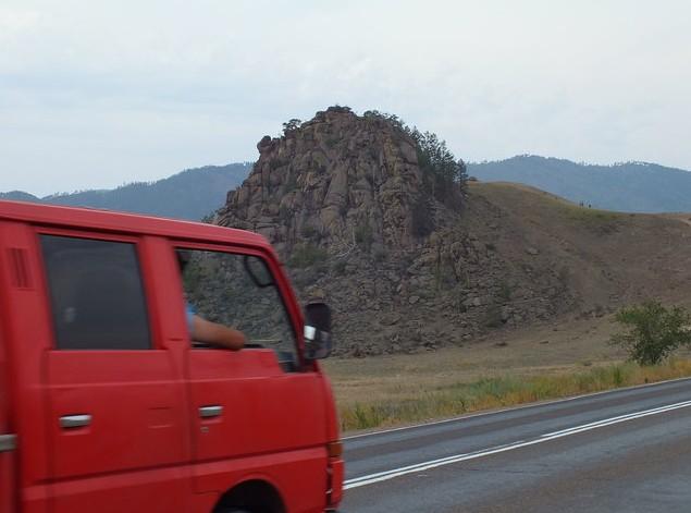 гора Спящий Лев бурятия
