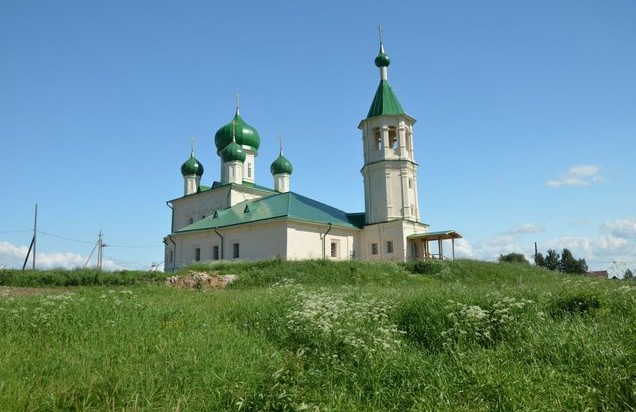 Димитриевская церковь Ломоносово