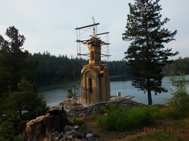 часовня святого пророка царя Соломона на изумрудном