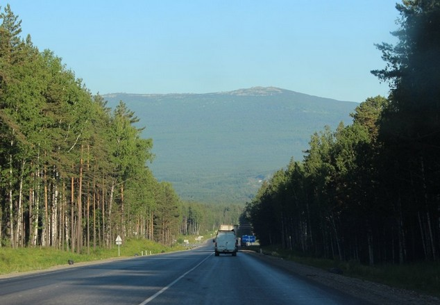 красивая дорога м5