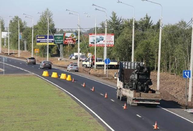 ограничение движения на трассе м8