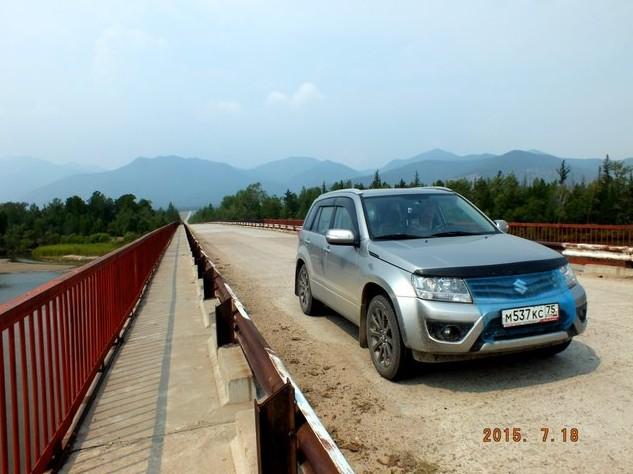 мост через Баргузин