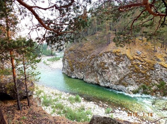 маршут третий вдоль реки алла