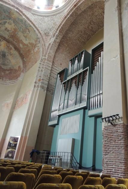 Орган в Пицундском храме