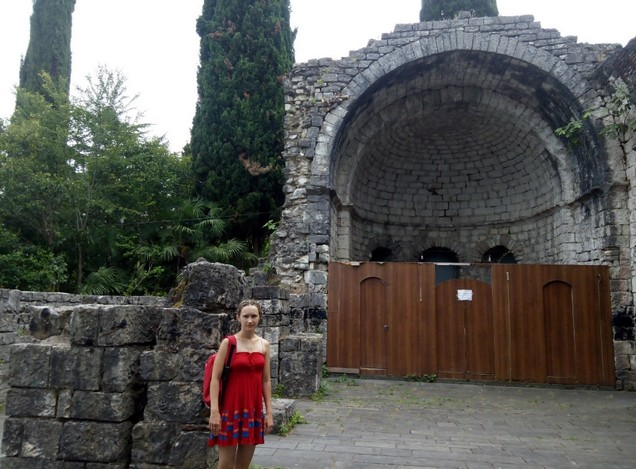 Храм 6-й век абхазия