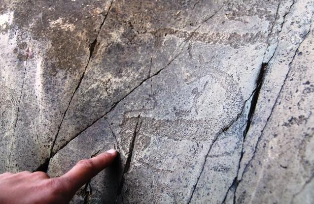 рисунки эпохи неолита и раннего железа на алтае