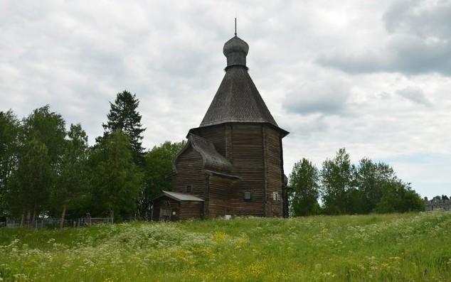 деревянная церковь Николая Чудотворца