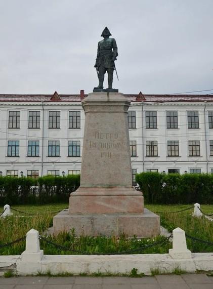 Пётр I с 500-рублёвой купюры