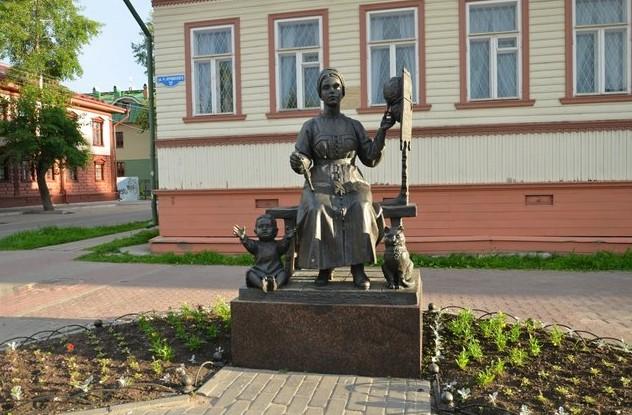памятник Русским жёнам