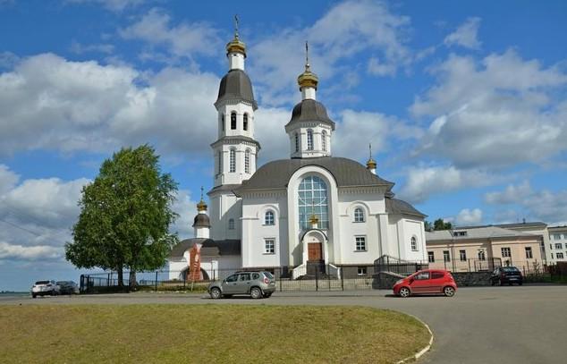 Успенская церковь. Архангельск