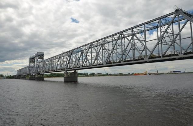 Северодвинский разводной мост