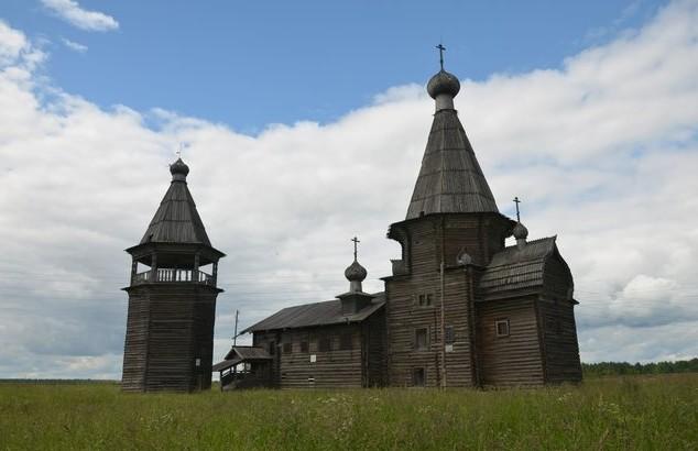 Церковь Иоанна Златоуста саунино