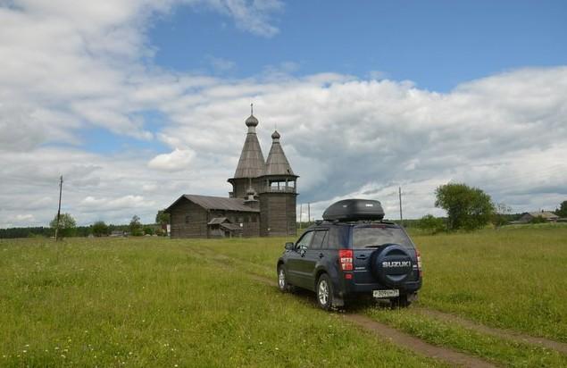 Церковь Иоанна Златоуста в селе саунино