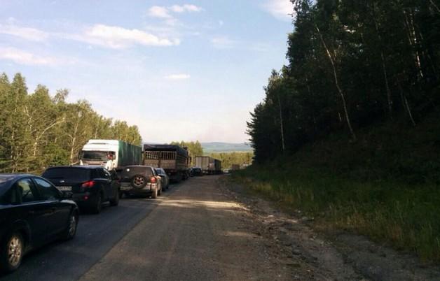 пробка на м5 в челябинской области