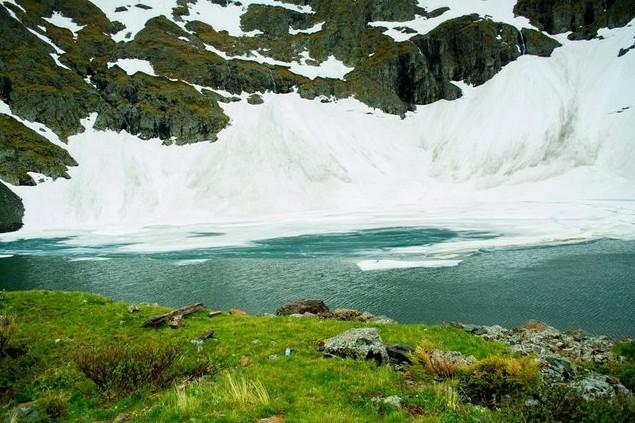 поездка на озеро Красной горы