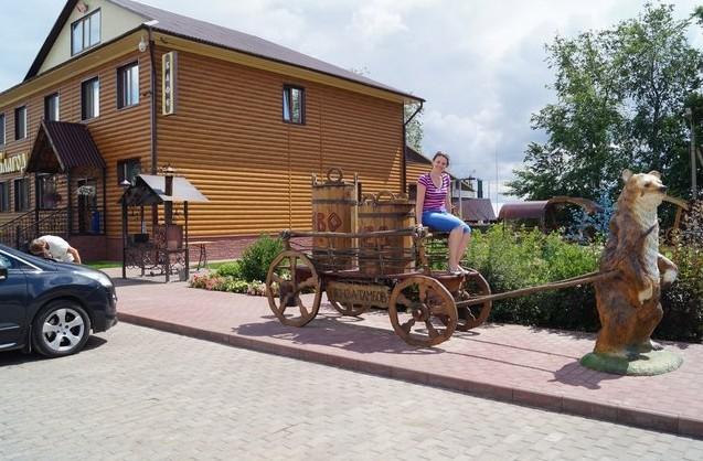 кафе-мотель «Благодать» возле Шиновки