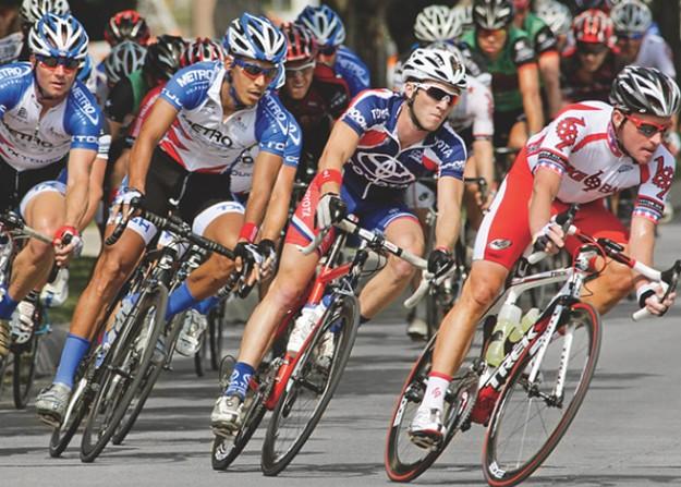 велогонка на трассе ростов - азов