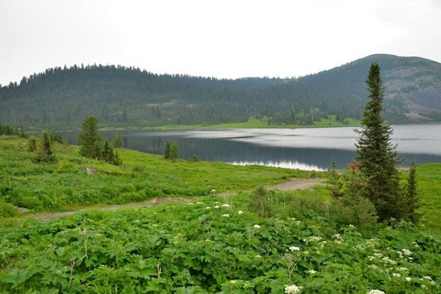 поездка на озеро ойское