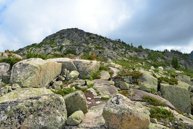 каменая тропа в ергаки