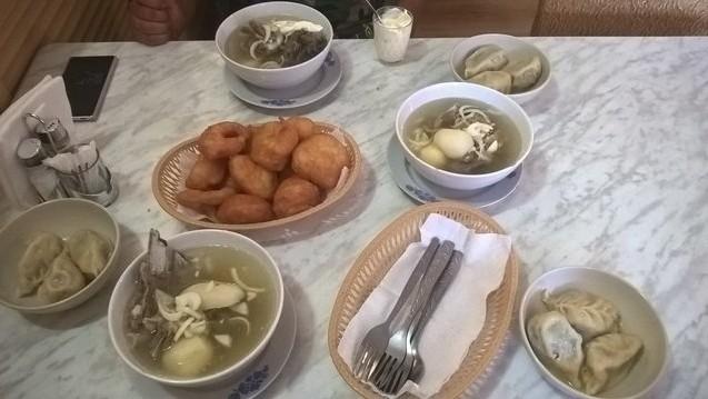 калмыцкий обед