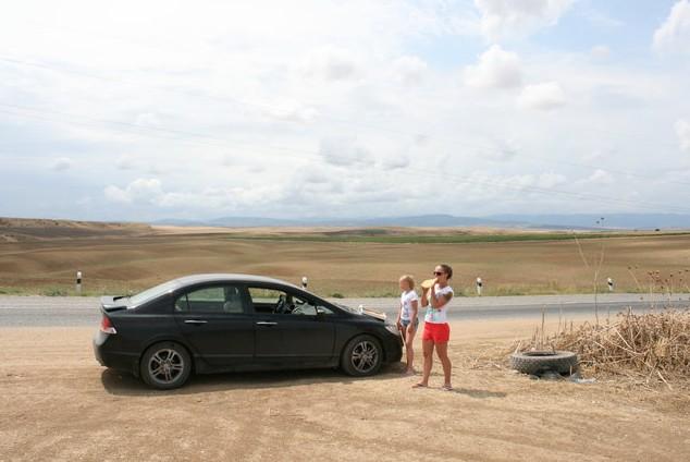 поездка на каспийское море обед по дороге