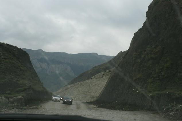 дорога на хунзахский водопад