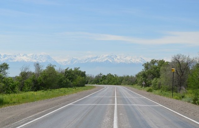 дорога в алма-ату