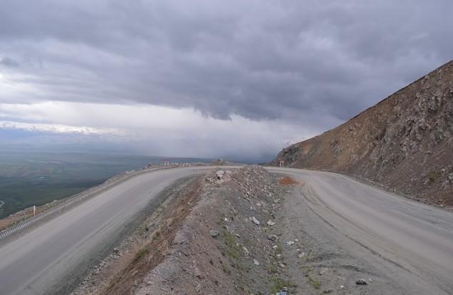 горная дорога перевал Тее Ашу