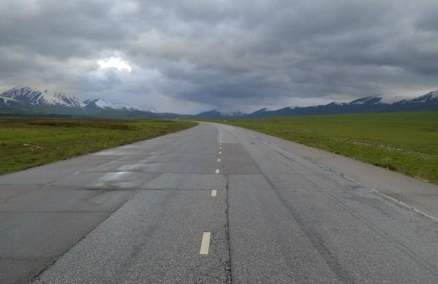 дорога на перевал Ала-Бель