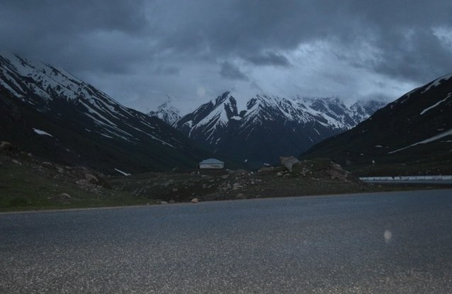 поездка на памир вечер в горах