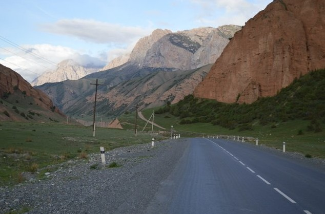 перевал талдык киргизия