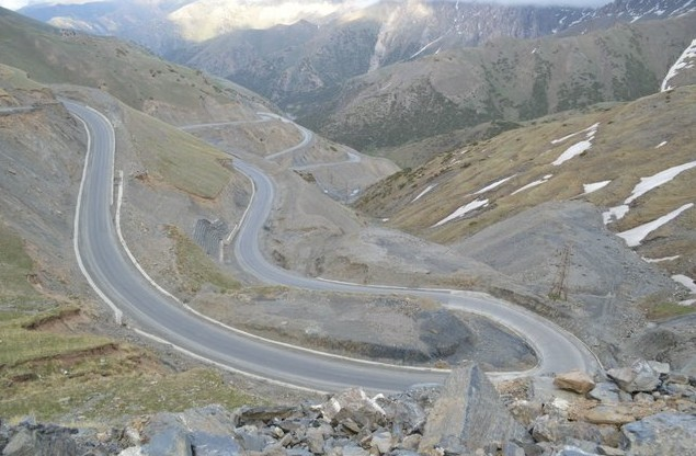 перевал талдык по дороге на памир