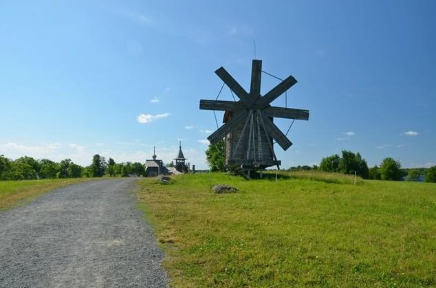 ветряная мельница кижи