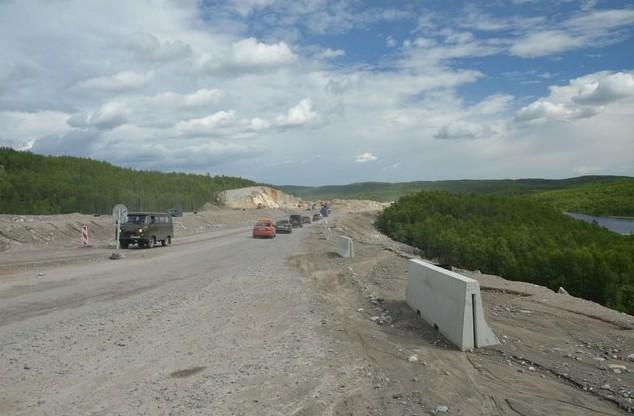 ремонт дороги возле мурманска