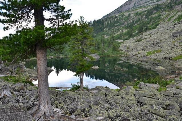 путешествие на озеро художников в ергаки