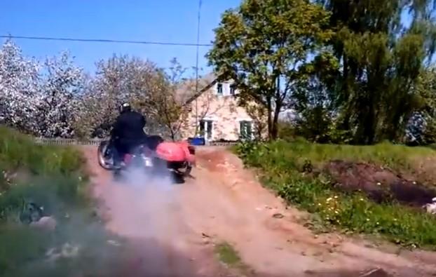 неуловимый мотоциклист