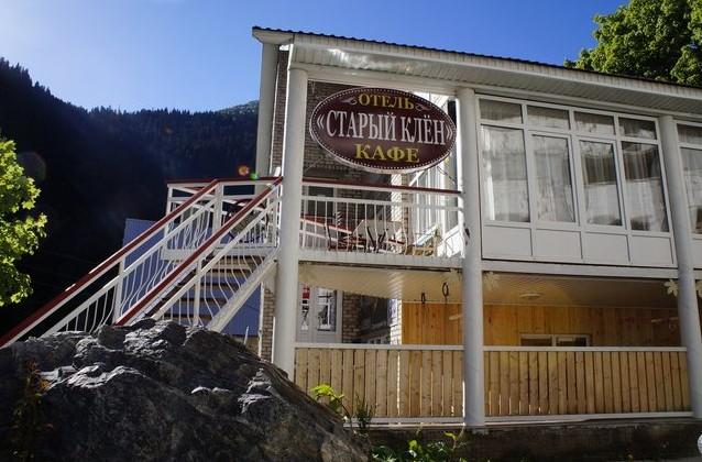 отель старый клен домбай