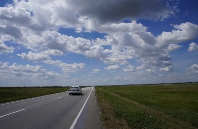 поездка на домбай дорога в калмыкии