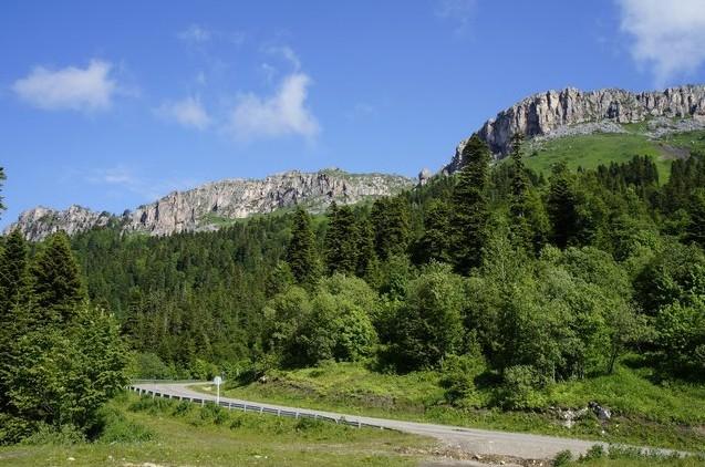 путешествие на авто по адыгейским горам