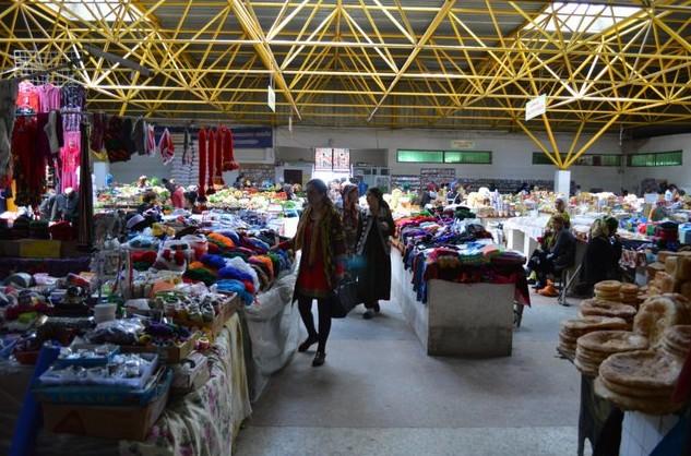 хорогский базар