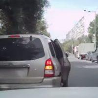 Сумасшедшая погоня за барсеточниками по улицам Москвы