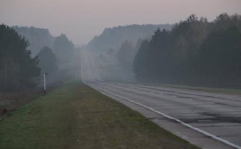 Трасса М3 Украина, утро, как доехать до Симферополя